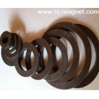China Bonded Ferrite Magnet Ring on sale