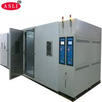 China CE Certification Walk - In Climate Test Chamber For Low High Temperature And Humidity Testing on sale