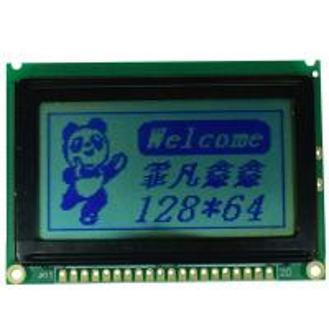 Dot Matrix Dot Matrix LCD Display Module , 2.64 Inch Reflective LCD Panel Module Manufactures