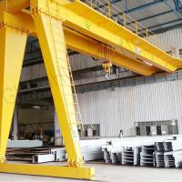 China BMH Type 5T 10T 20T Semi Electric Gantry Crane , Indoor Mobile Gantry Crane on sale