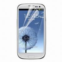S3 I9300 Clear Screen Protector for Samsung Galaxy, Various Types are Available Manufactures