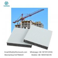 multi purpose use hollow plastic formwork|newly building concrete formwork|new type holow plastic formwork Manufactures