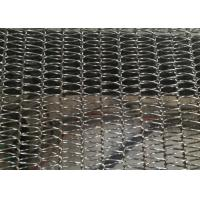 Lightest Diamond Spiral Conveyor Wire Mesh Belt For Frozen Products And Dried Food Manufactures