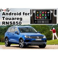 China Volkswagen Touareg RNS 850 GPS Android Navigation System For Car 8 Inch Youtube Waze Wifi on sale