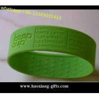 Promotional 202*15*2mm any color Silicone Wristband/bracelet Glow in dark