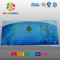 China PVC Heat Shrink Sleeve Labels For Water Bottle Packaging Customized Printed on sale