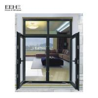 Double Glazing Glass Aluminum Casement Windows For Commercial Office Building Manufactures