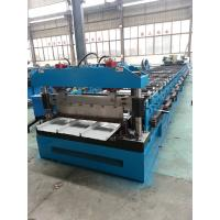 Color sheet steel Kliplock roll forming machine for manufacture