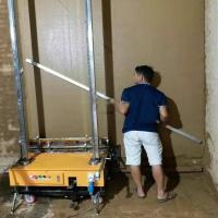 China The automatic wall plastering machine made in China/rendering machine for wall,wall spraying  machine, on sale