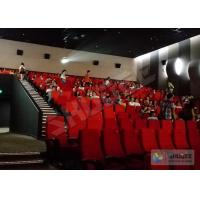 4D Movie Theater 4D Motion Cinema Seat 2Seats Spray Air, 55 Inch Or Customize Manufactures