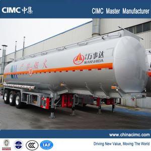 tri-axle 45000 liters fuel truck semi trailer for sale Manufactures