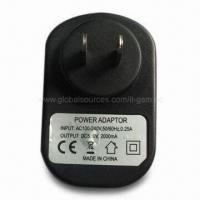 Wall Charger for Barnes & Noble Nook Color, 5.0V DC, 2,000mA Output Manufactures