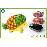 China Biodegradable Plastic Blister Packaging As Fruit Container / Fruit Tray on sale