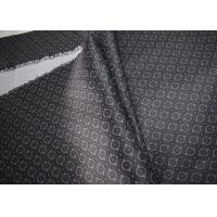 Grey Printed Apparel Fabric High Standard Tear Strength Wrinkle Resistance Manufactures