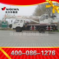 Chinese manufacturer small wheel crane 10 ton truck mounted crane with telescopic GNQY-698 Manufactures
