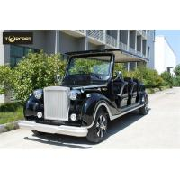 Electric Classic Golf Cart to High Strength Fiberglass Body with Metallic Painting Brake Manufactures