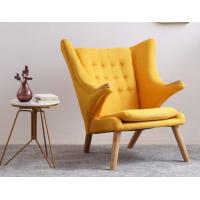 China New design furniture fabric Hans Wegner teddy bear chair Soft comfortable lounge chair on sale