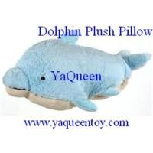 Dolphin Plush Pillow