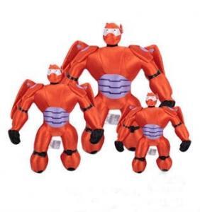 Children Cartoon Plush Toys Big Hero 6 Baymax Mech Action Figure Manufactures