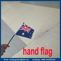 Printing Polyester National Hand Flag Manufactures