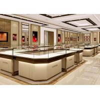 Stable Structure Showroom Display Cases Easy Install For Jewelry Retail Store Manufactures