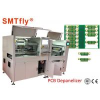 1.5KW PCB Separator Machine CCD Vision - Online PCB Boards Separation SMTfly-F05 Durable Manufactures