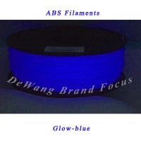 1.75mm ABS 3D Printer Filament 1KG 2.2lbs with Spool for Makerbot Glow-blue Manufactures