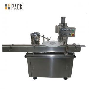 Olive Oil Liquid Filling And Capping Machine Aluminum Cap Crimping Manufactures