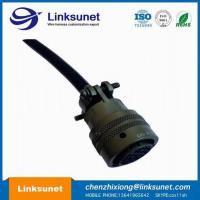 Industrial Robot Power High Flex Circular Connector Cable Assembly PT06A - 14 - 19S Soldering Manufactures