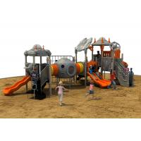Outdoor Playground  Plastic Playground Material climbing play system for kids Manufactures
