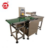 Conveyor Belt Weight Checking Machine With Reject Arm / Air Blast / Pneumatic Pusher Manufactures