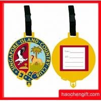 golden yellow luggage tag Manufactures