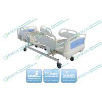 Cold rolled Steel Electric Nursing Bed with Four Wheels and three Motors Manufactures