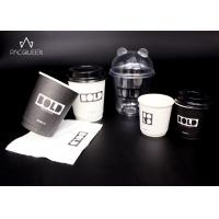 4oz - 16oz Custom Disposable Paper Cups Customize Branded For Hot / Cold Drinks Manufactures