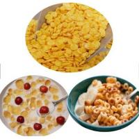 Big Capacity Corn Flakes Production Line / Breakfast Cereals Process Line Manufactures