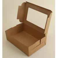 China New product printing lunch food packaging box pizza custom kraft paper boxes,kraft paper box disposable paper folding lu on sale