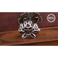 Fashion  Jewelry stainless steel Vintage Ring for men E19 Retro fashion Skull ring Manufactures
