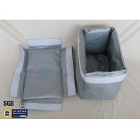 Thermal Insulation Materials Fiberglass Removable Blanket Jacket 250℃ Grey Manufactures