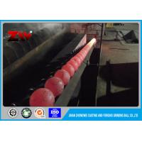 China Hot rolling forged grinding ball & Forging and Casting in gold mines HRC 58-63 on sale
