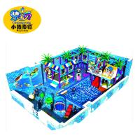 China Kids soft indoor playground equipment naughty castle ball pool playground for kids on sale