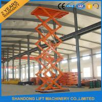 Quality CE Hydraulic Stationary Scissor Lift Work Table for Warehouse Cargo Lift for sale