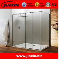 China JIXNIN stainless steel shower curtain systems screen doors on sale
