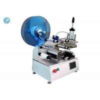 Semi Automatic Cable Labeling Machine , Stainless Steel Wire Labeling System Manufactures