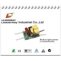 high PF open frame LED power driver 4W Manufactures