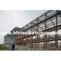 Custom Structural Industrial Steel Buildings For Workshop, Warehouse And Storage Manufactures