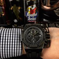AP Survivor Limited Edtion Black Strap PVD chrono Watch - 1W0012 Manufactures