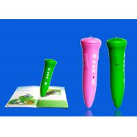 Dry Battery Sonix OID Text Reading Pen For Children , Educational Talking Pen Manufactures