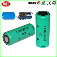 China 26Ah 12v Cylindrical Lithium Ion Battery For Electric 3 Wheelchair , EU Certificate on sale