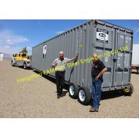Modern Design Shipping Prefab Container House On Wheels Tiny Container Home Manufactures