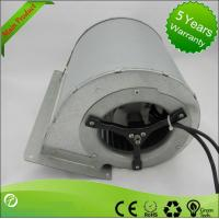 EC Input Double Inlet Centrifugal Fans / Forward Curve Fan Blower 133 * 190mm Manufactures